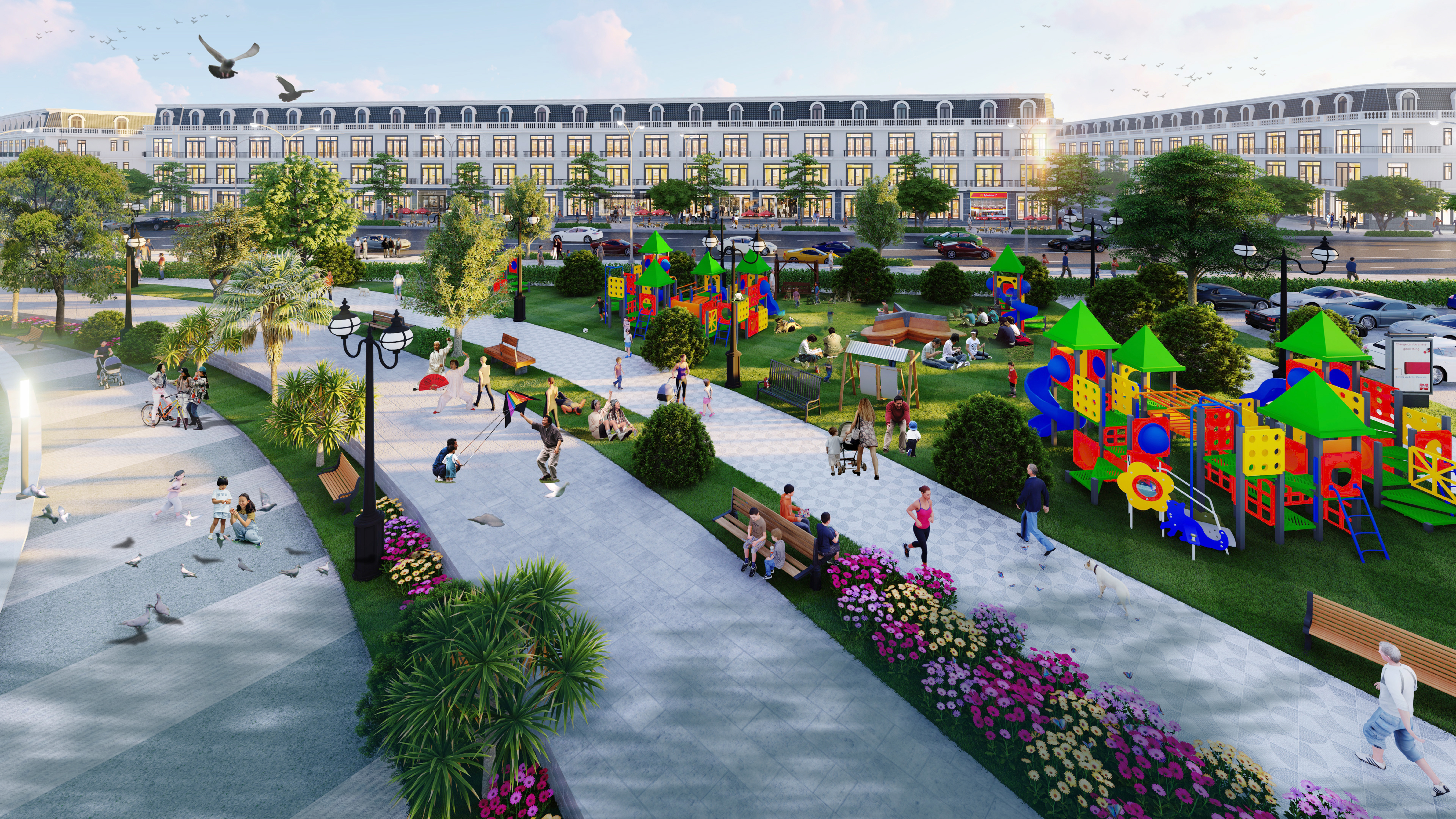 Dự án Vĩnh Yên Center City có thêm nhiều không gian công cộng