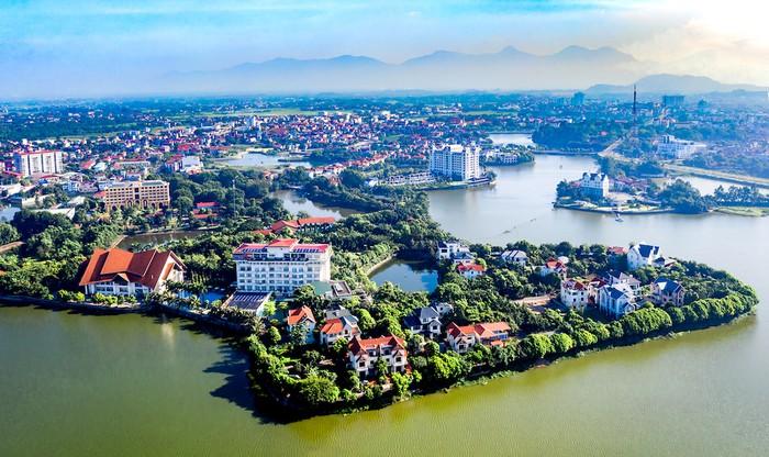 TP Vĩnh Yên với đặc trưng sinh thái đầm, hồ