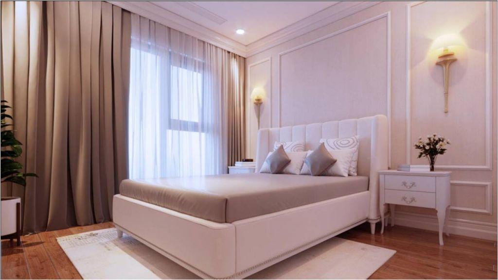 Phòng ngủ dự án Le Capitole 27 Thái Thịnh