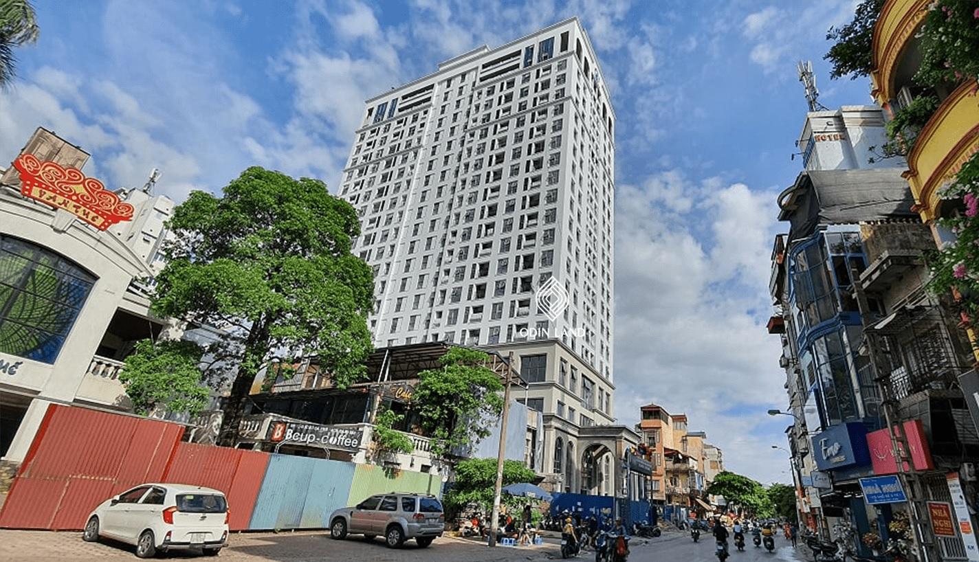 ảnh thực tế Dự án Chung cư Le Capitole 27 Thái Thịnh 2020