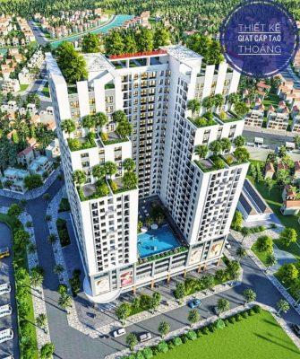 Chung cư Southern Star Geleximco 897 Giải Phóng mở bán căn hộ chung cư Đợt 1