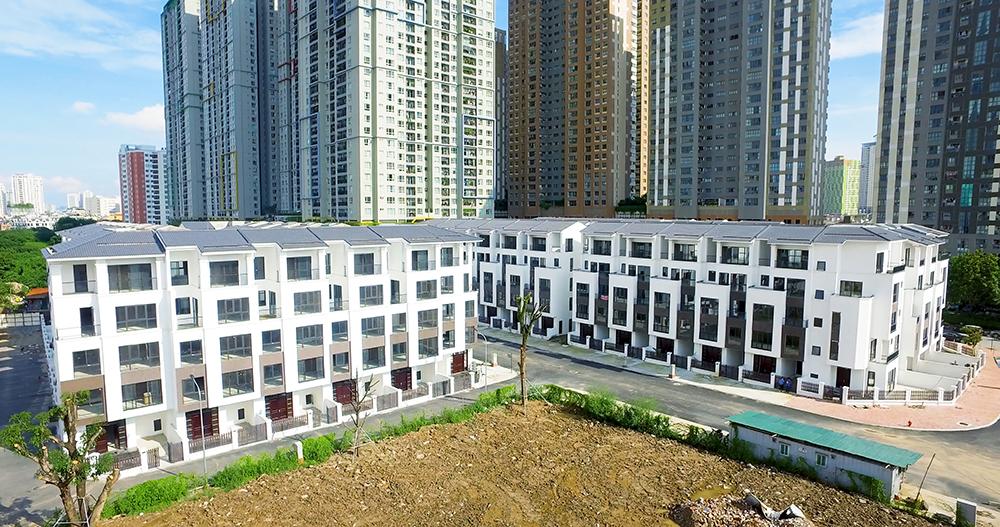 Tiểu khu Vành Khuyên và Họa Mi Dự án Hoàng Thành Villas