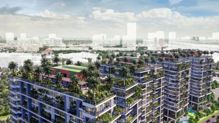Villas Xanh Green Iconic trên không siêu VIP