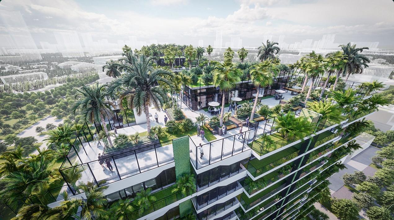 Dự án Villas Sunshine Green Iconic ý tưởng Rừng trong phố