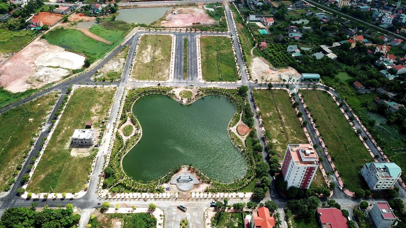 Đất nền Chí Linh Palm City chỉ 13,1 triệu / m2 Sỏ đỏ chính chủ