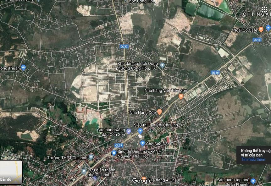 Chí Linh Palm sở hữu vị trí Vàng đắc địa Trung tâm TP