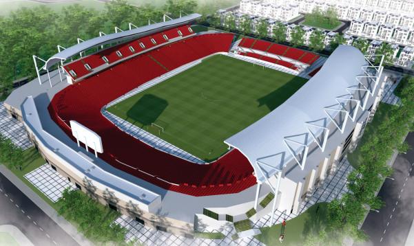 Sân vận động trung tâm TP Chí Linh - Hải Dương KĐT Chí Linh Palm