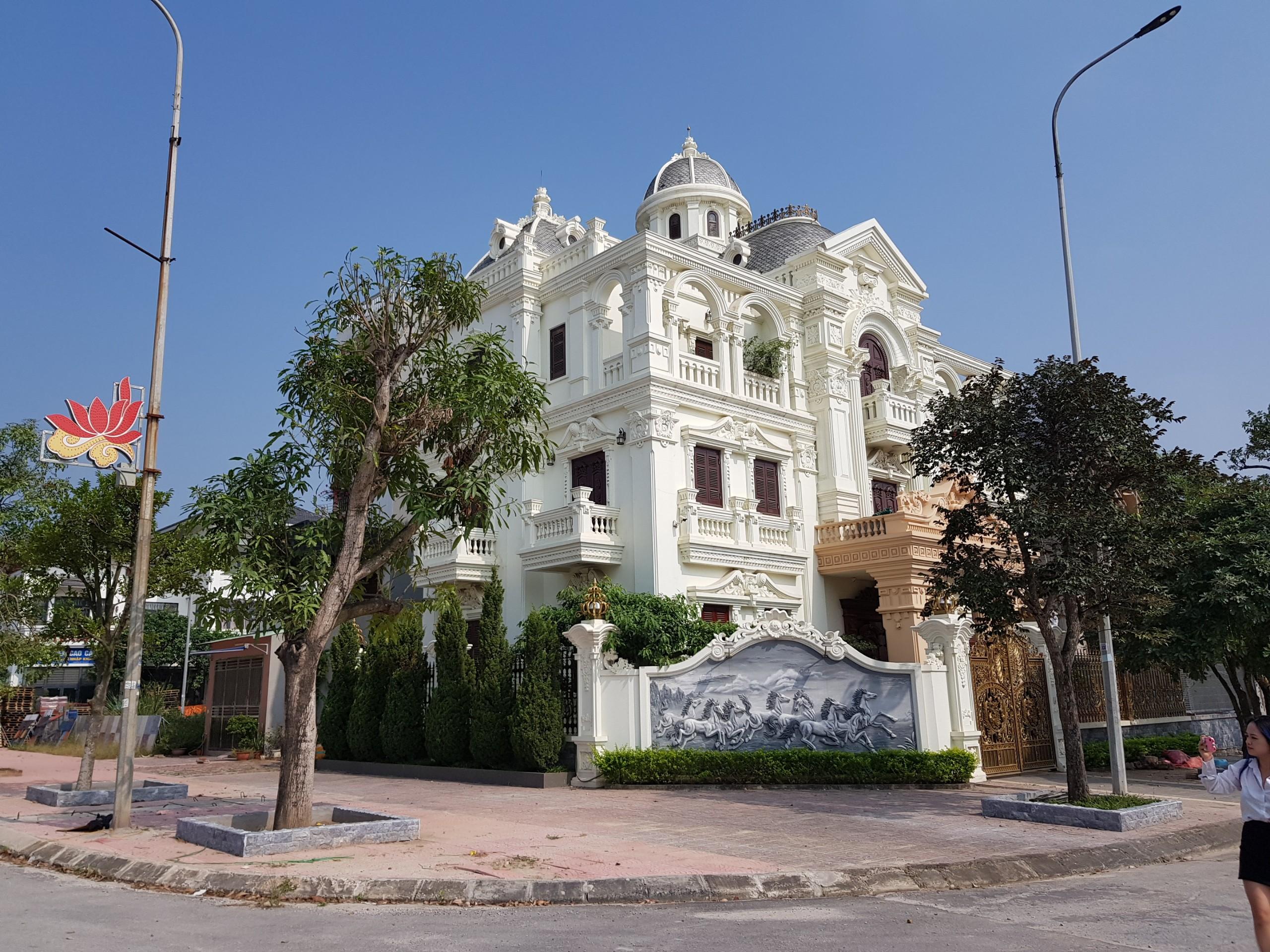 Biệt thự đã hoàn thiện tại Dự án Palm City Chí Linh Hải Dương