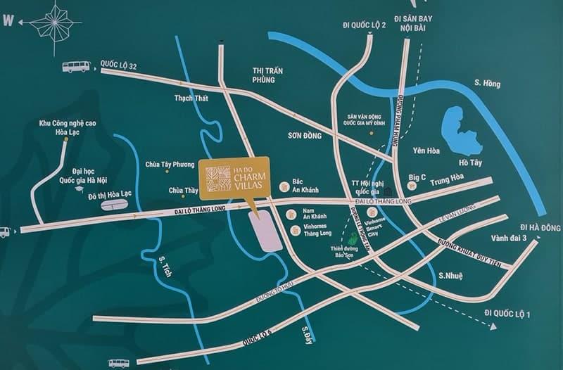 Biệt thự Hà Đô Charm Villas di chuyển về Mỹ Đình chỉ 15 phút