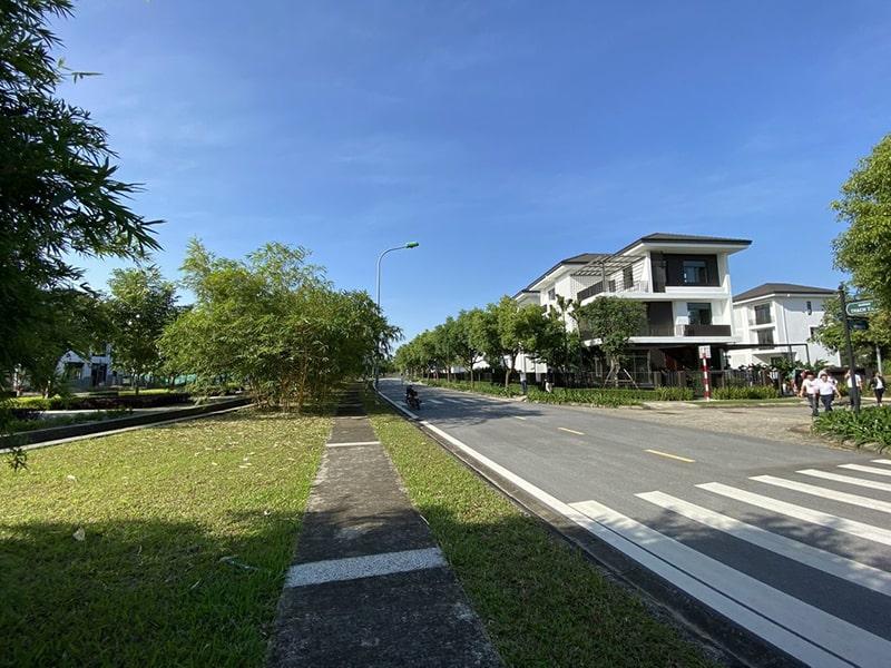 Ảnh thực tế không gian Xanh biệt thự Hà Đô Charm Villas Km 11