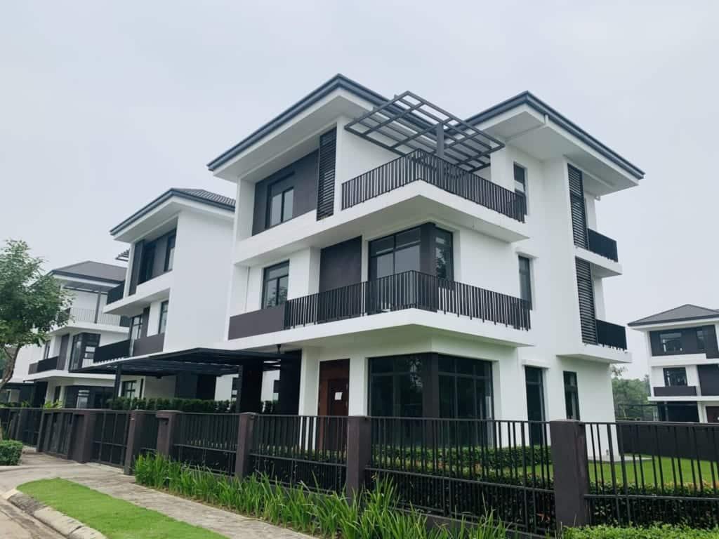 ảnh thực tế Biệt thự đơn lập Hà Đô Charm Villas 2020