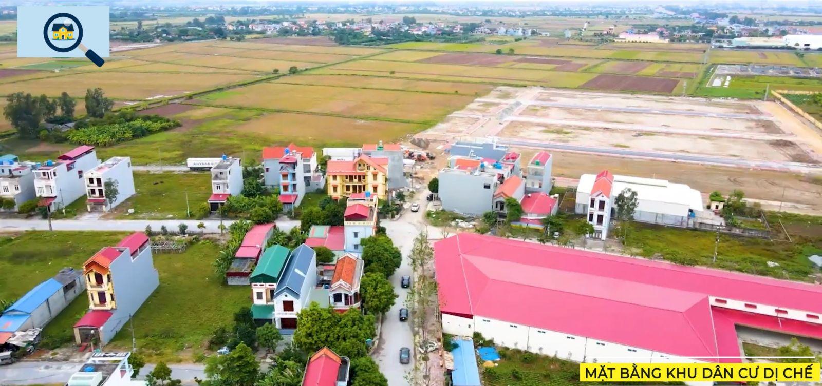 Khu dân cư sầm uất, Nhà văn hóa Tiên Lữ, hạ tầng hoàn thiện 2021