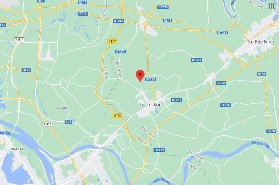 Kết nối giao thông cấp Quốc gia Nam Hồng Garden Từ Sơn