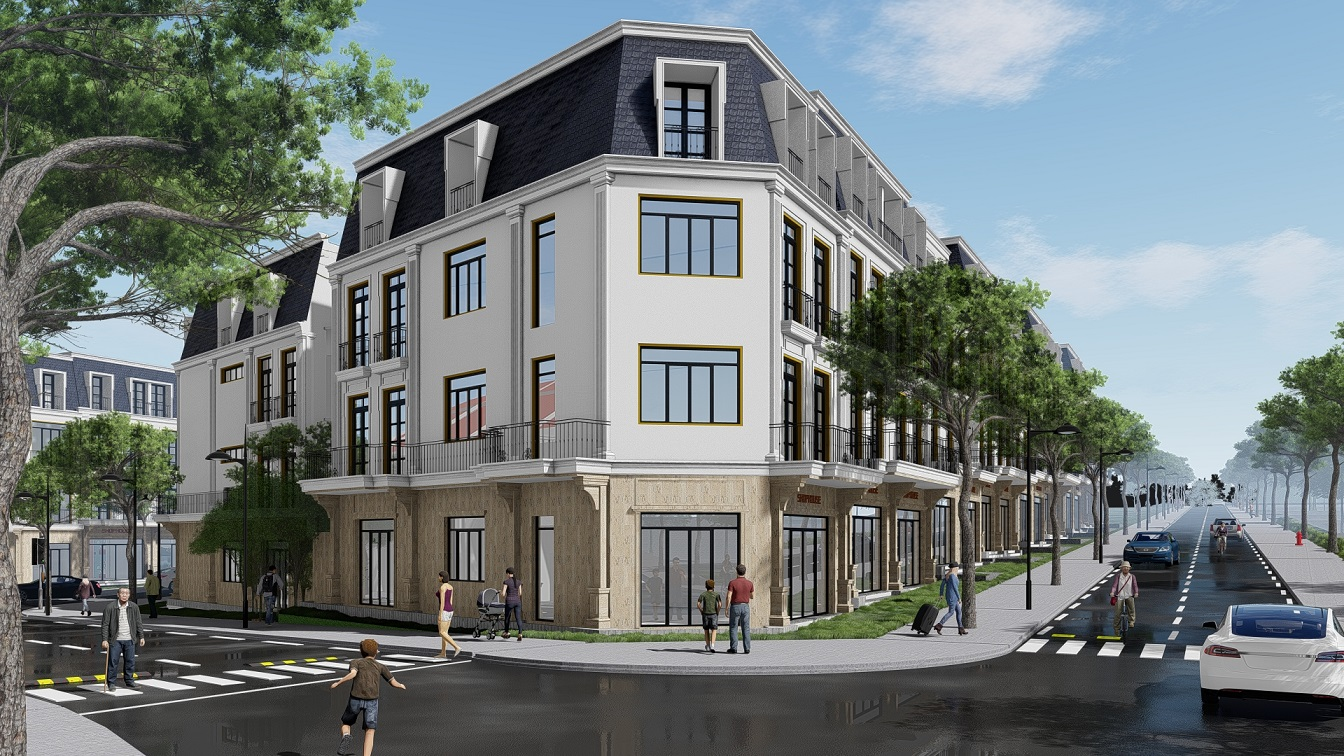 Sapa Garden Hills Thiết kế Kiến trúc Tân cổ điển Châu Âu 2021
