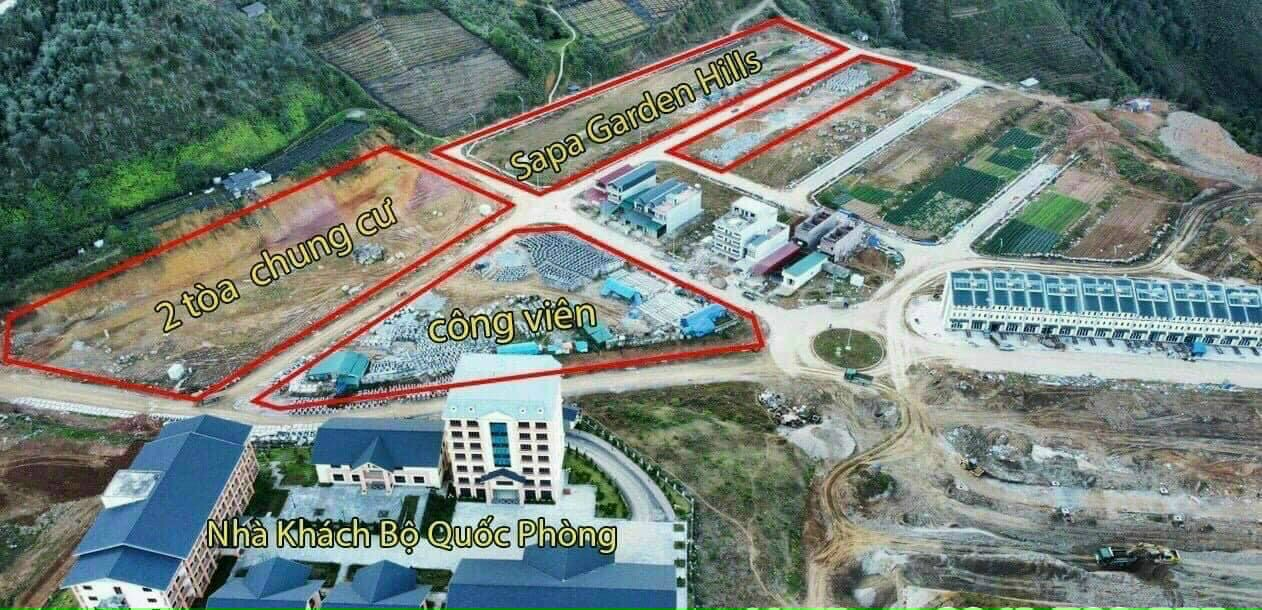 Dự án Shophouse Sapa Garden Hills 2021