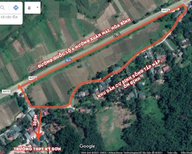 Đất nền đấu giá Kỳ Sơn sở hữu tọa độ Kinh doanh sầm uất 2021