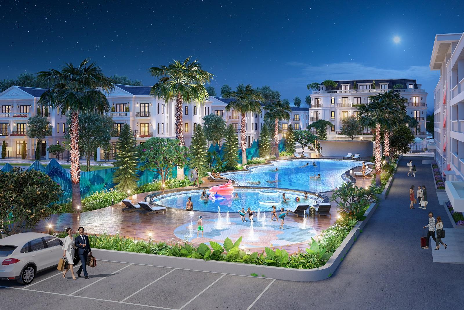 Biệt thự song lập Eurowindow Twin Parks Gia Lâm sở hữu không gian sống sang trọng, đẳng cấp bậc nhất Thủ đô Hà Nội