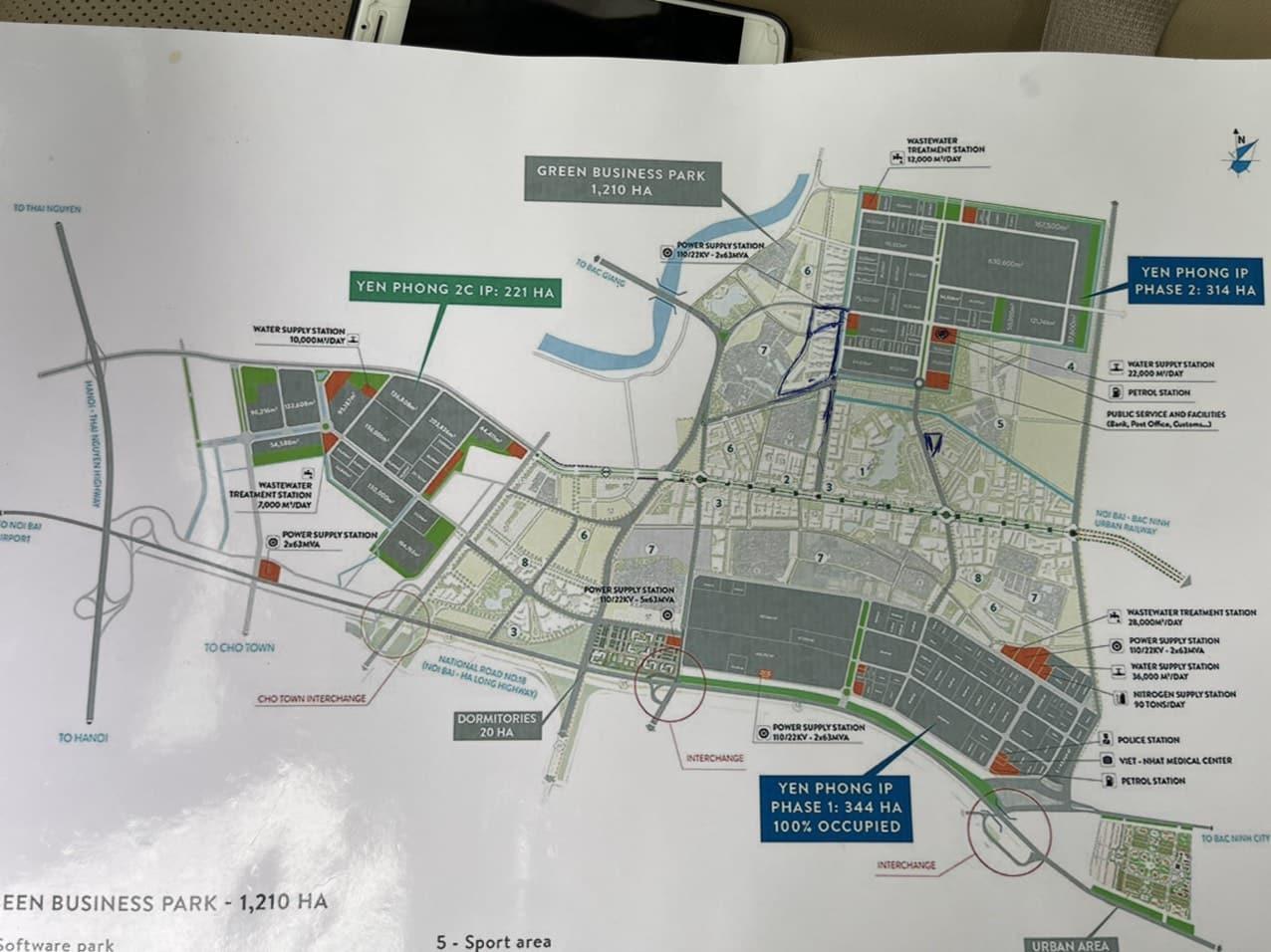 Dự án An Bình Vọng Đông sở hữu vị trí Trung tâm Kinh tế FDI Miền Bắc