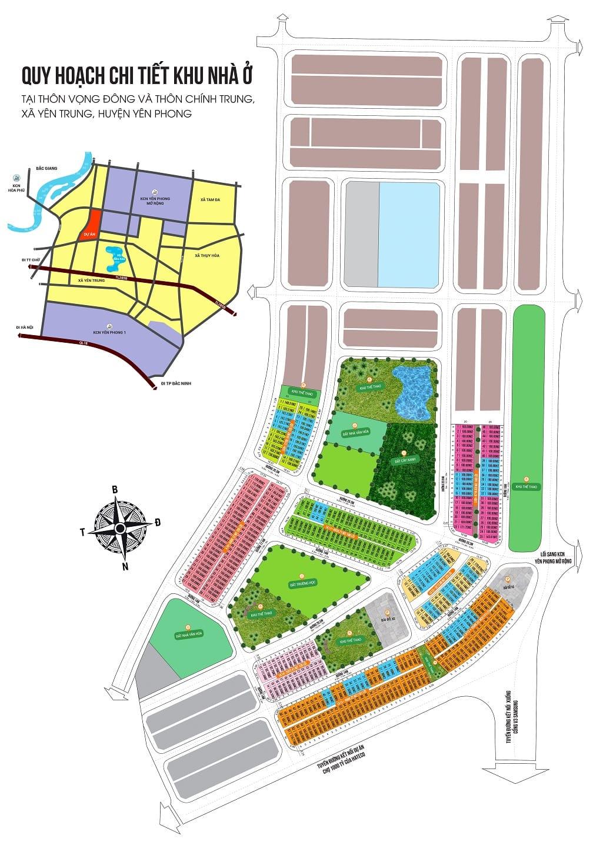 Mở bán Quỹ Đợt 1 - Đầu tư Đất nền An Bình Vọng Đông, Chính Trung, Yên Trung, Yên Phong, Bắc Ninh