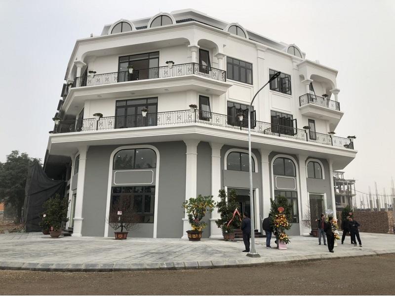 Ảnh thực tế Dự án Shophouse Calyx Residence 319 Đông Anh