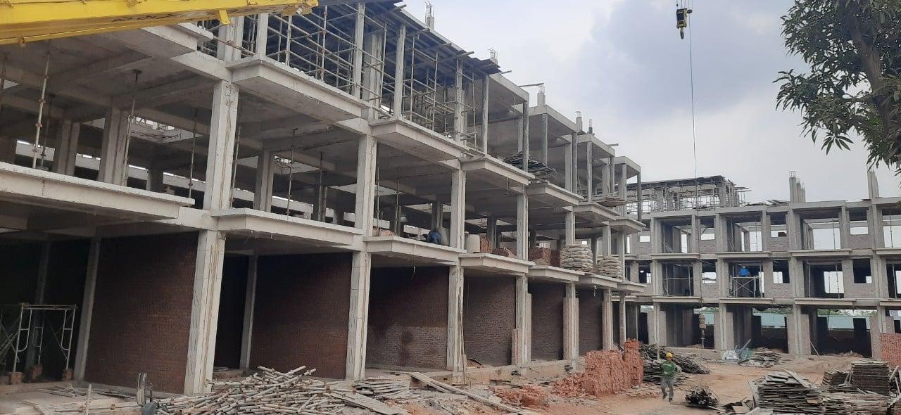 Nhà phố kinh doanh dự án Calyx 319 Residence xây dựng 4 tầng