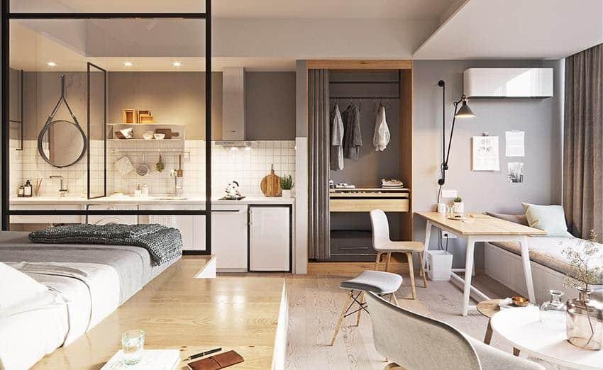 Nội thất căn hộ Studio Eco Smart City đang làm thị trường nghiêng ngả