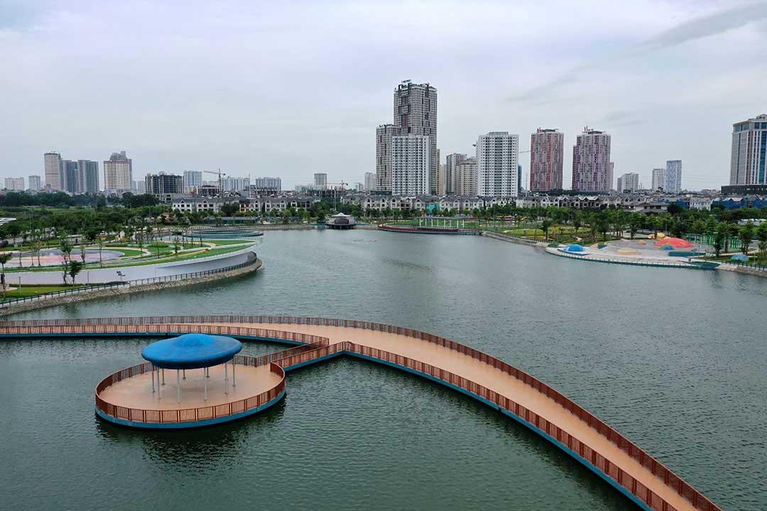 Tiện ích vượt trội tại Khu đô thị Nam Cường Dương Nội Biệt thự Nam Cường