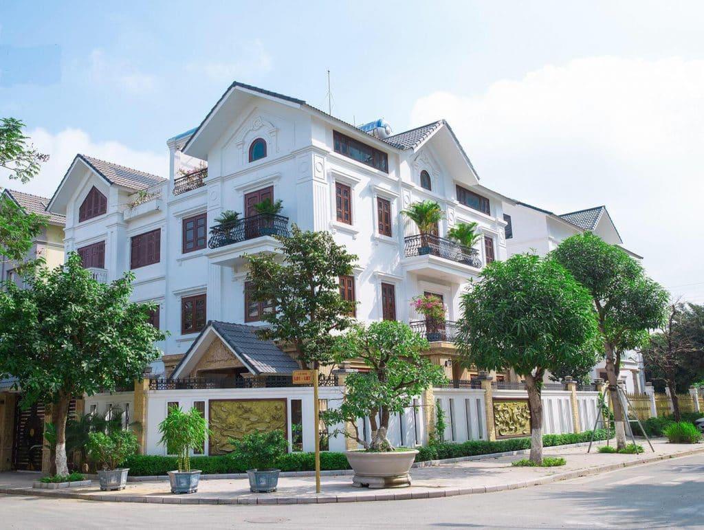 Biệt thự An Vượng tọa lạc tại Trung tâm Khu đô thị Nam Cường Dương Nội