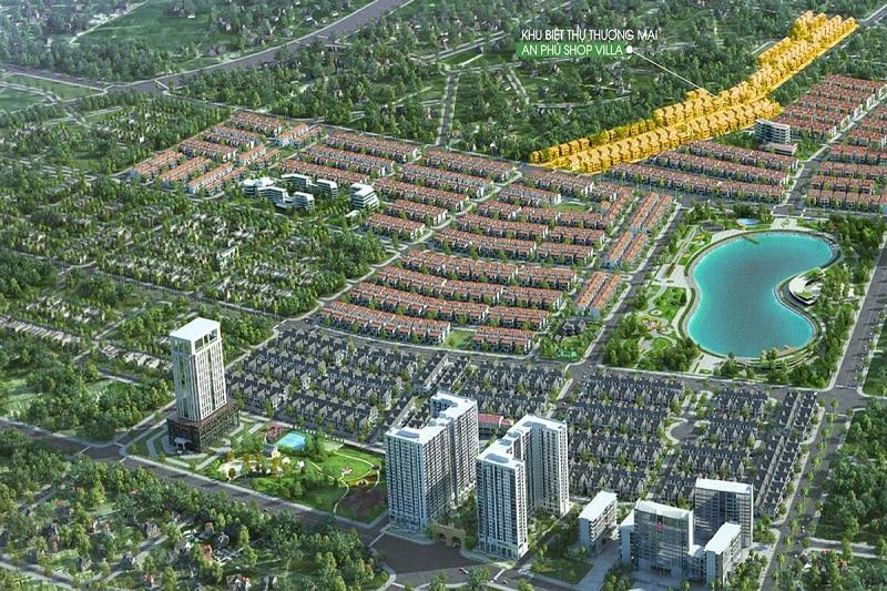 Biệt thự Kinh doanh An Phú Shop Villa Nam Cường Dương Nội số lượng giới hạn
