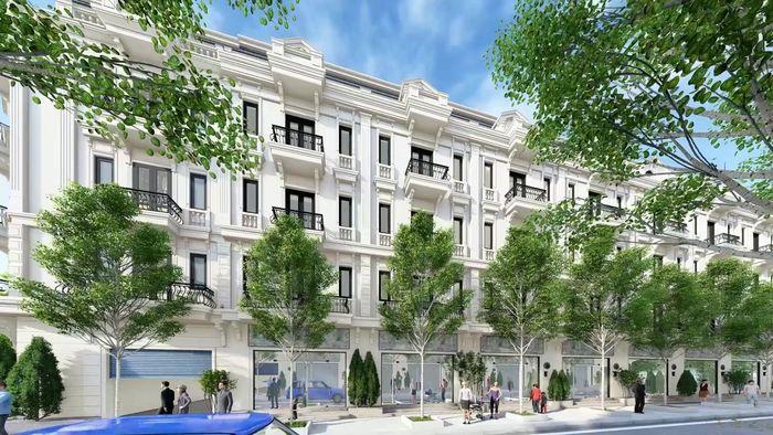Liền kề, Biệt thự Dự án Tiền Hải Center City mặt tiền 5-6-8-12m chiều sâu 20m