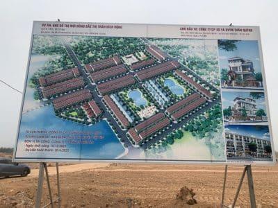 Dự án Tuấn Quỳnh Bích Động Việt Yên Bắc Giang Khu đô thị Đông Bắc
