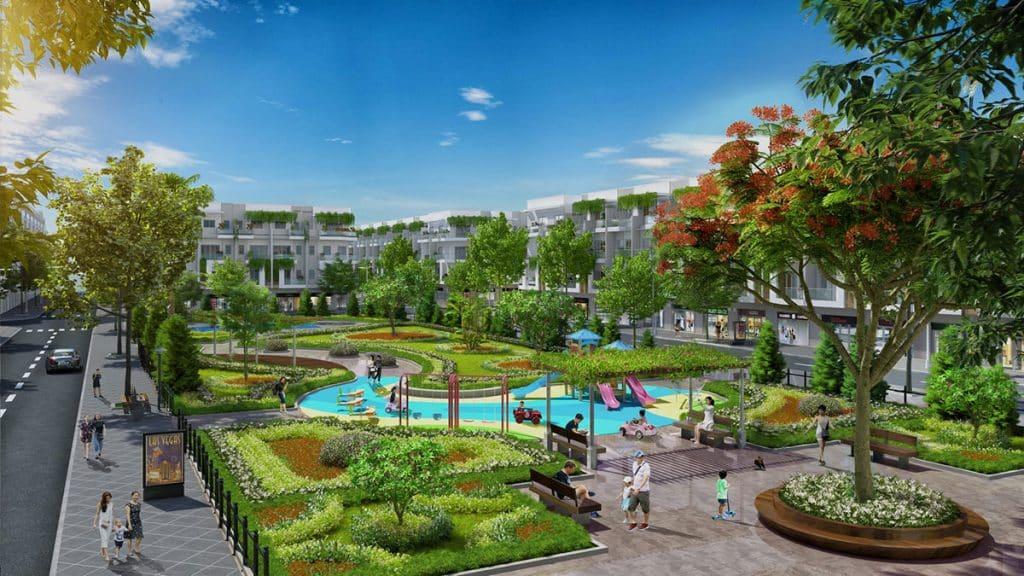 Tiện ích cảnh quan Dự án Khu đô thị Tuấn Quỳnh Bắc Giang