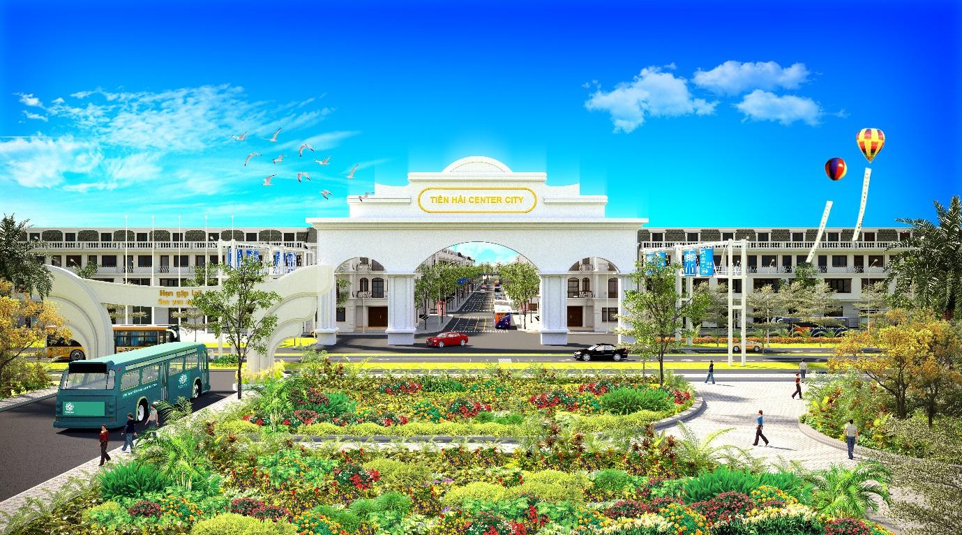 Dự án Tiền Hải Center City cơ hội đầu tư đất nền Thái Bình lịch sử