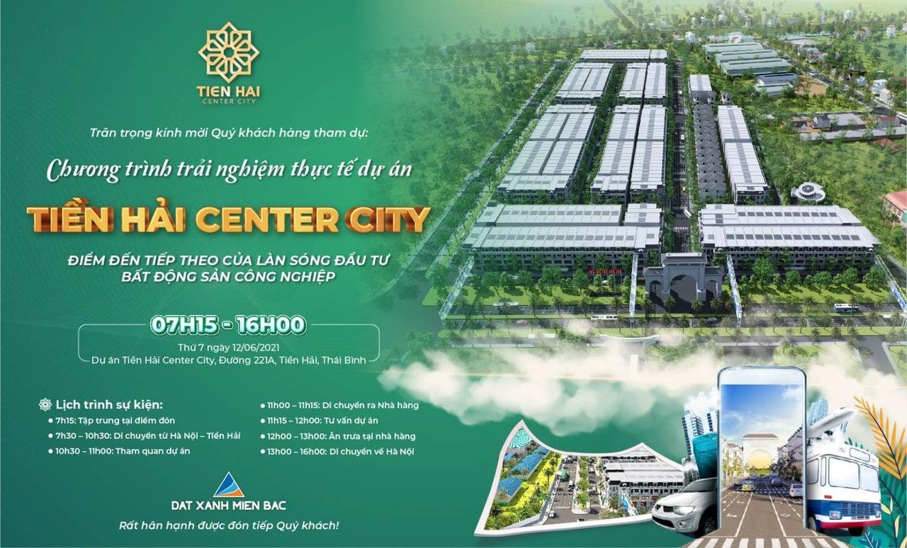 Đất nền Tiền Hải Center City là cơ hội lịch sử đất nền đầu tư