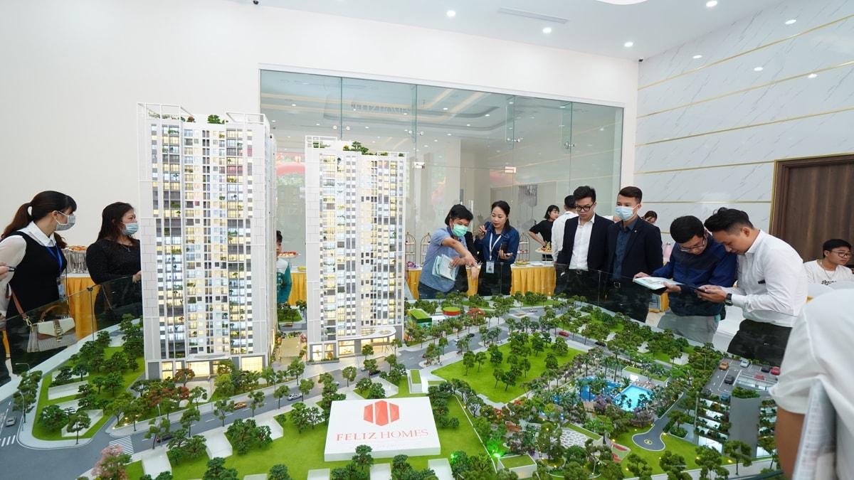 Khai trương Sa bàn Dự án Feliz Homes Hoàng Văn Thụ