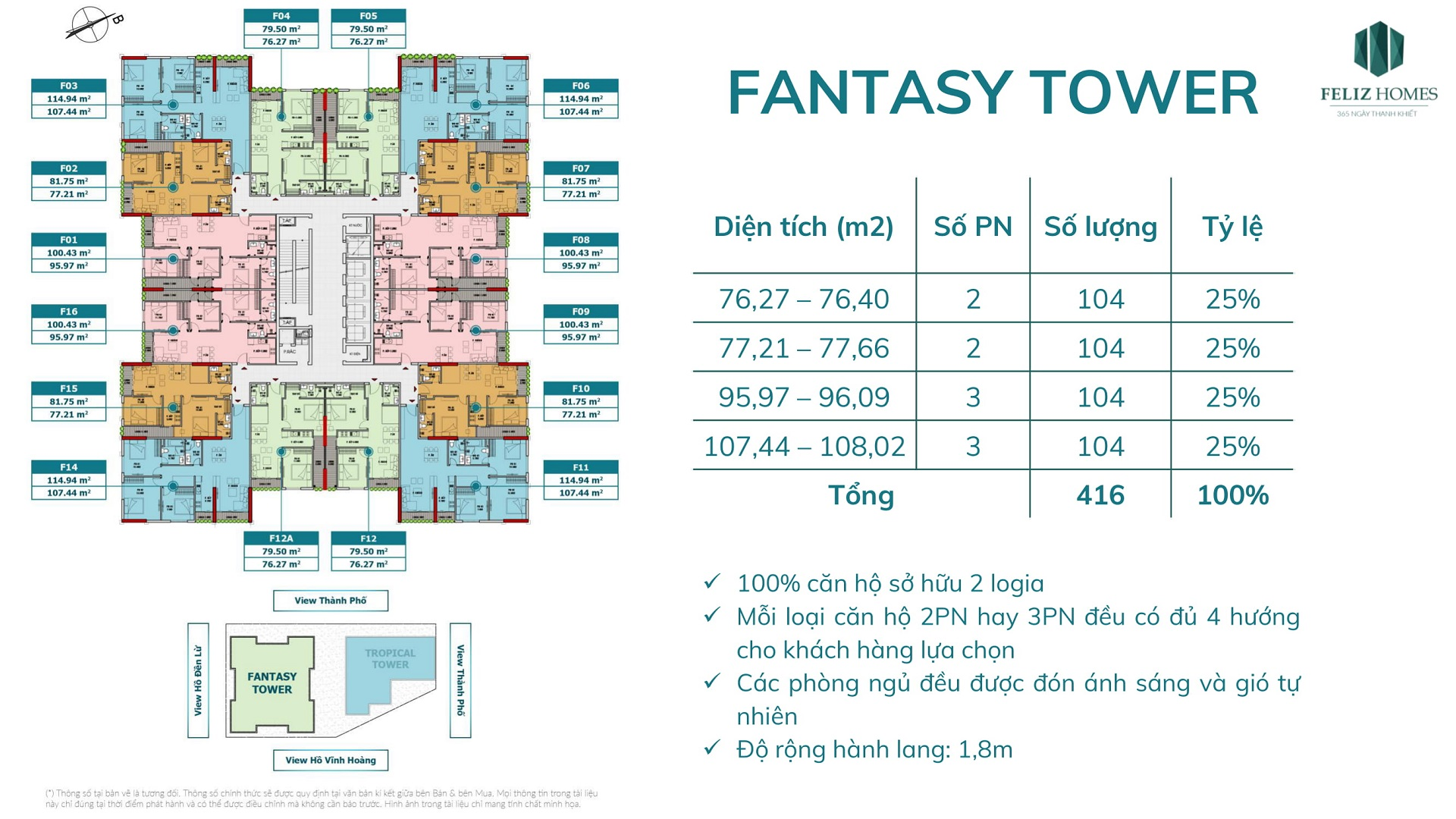 Thiết kế chi tiết căn hộ tòa Fantasy Chung cư Feliz Homes Hoàng Mai Hà Nội