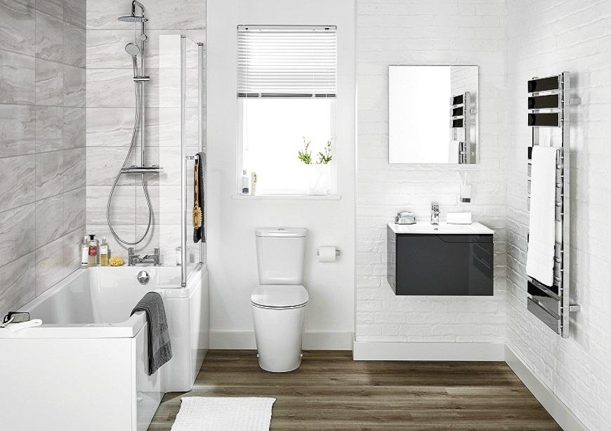 Tham khảo nội thất phòng tắm căn hộ dự án Chung cư Feliz Homes Hoàng Văn Thụ
