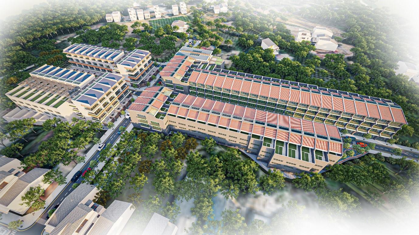 Phối cảnh Dự án Nam An Ecotown Phan Thiết