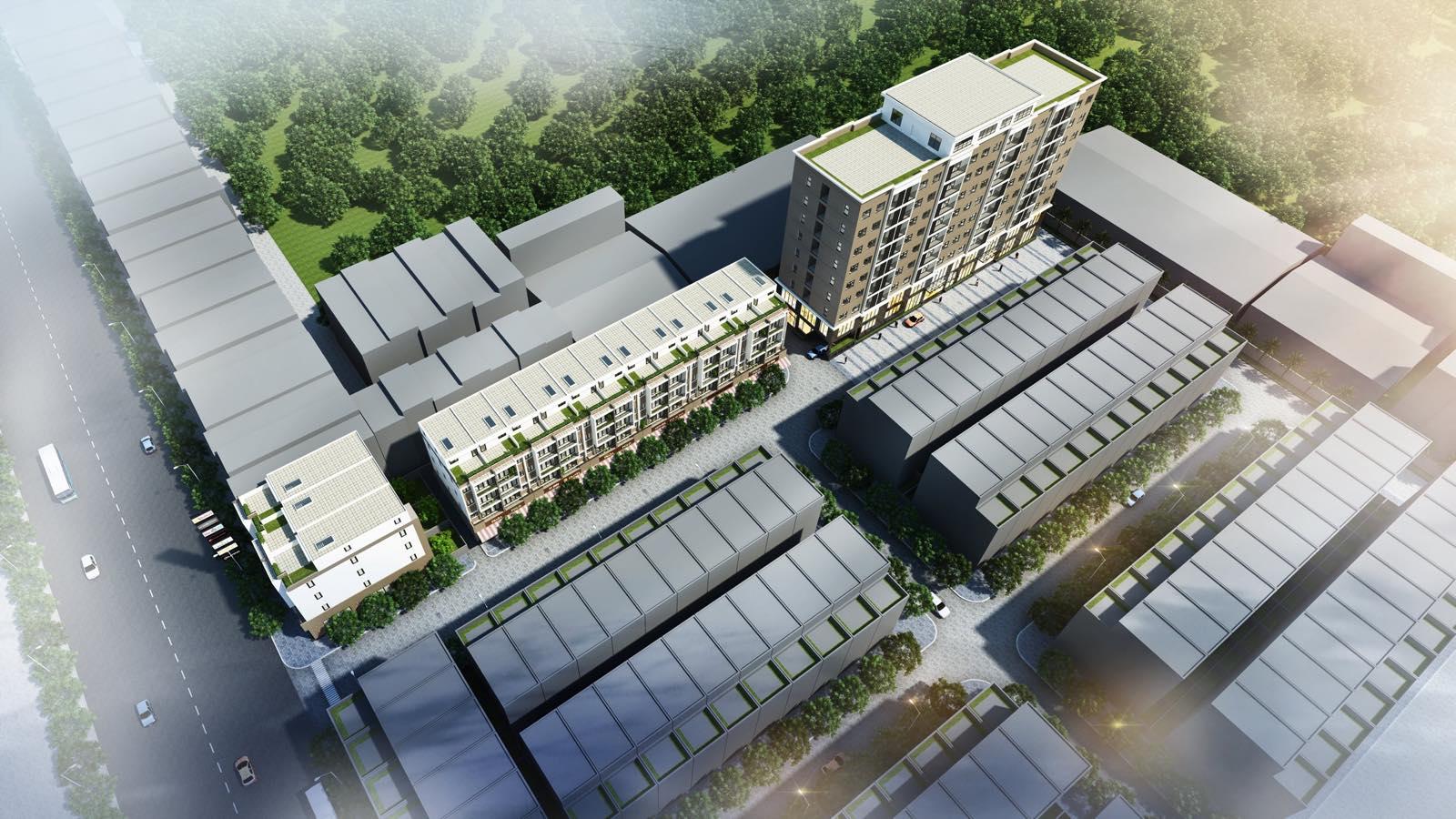 Dự án Lavender Garden 176 Định Công - Cơ hội duy nhất mua nhà nội đô giá 1 tỷ 5