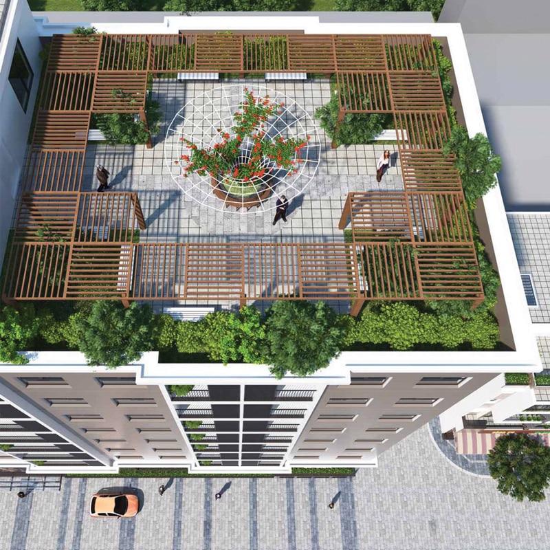 SkyWalk Garden Vườn Chân Mây tại Lavender Garden Định Công 176