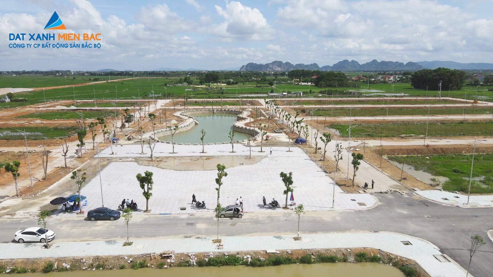 Công viên Hồ điều hòa MB650 Đồng Nam Đông Khê