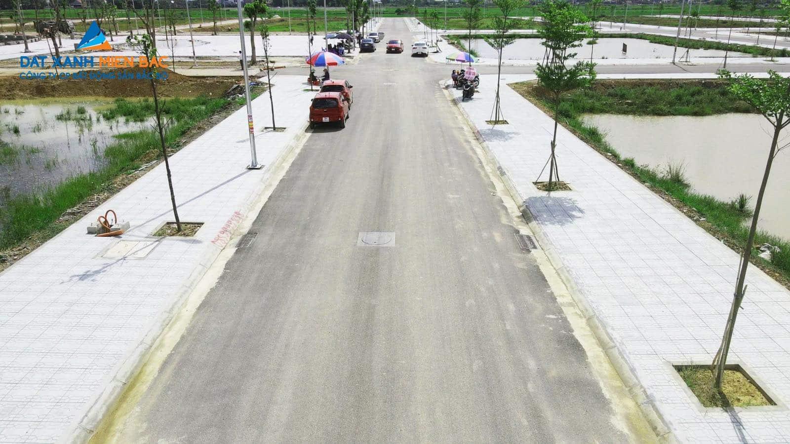 Đất đấu giá MB650 Đông Khê hạ tầng hoàn hảo 100% hoàn chỉnh tháng 7/2021