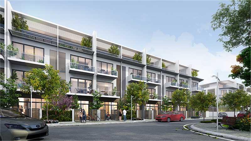 Liền kề Biệt thự Shophouse Mặt bằng MB650 Đồng Nam đang nền giá cực tốt 2021