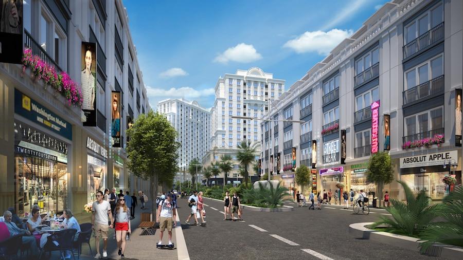 Shophouse Kinh doanh đường đôi 36m Liên kết Vùng Trung tâm Khu vực MB650 Đông Sơn
