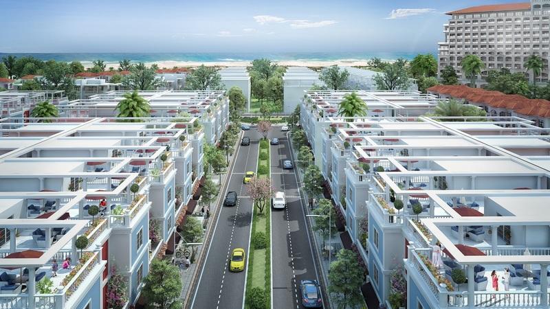 Đại lộ kinh doanh shophouse Dự án FLC Quảng Bình Beach & Golf resort