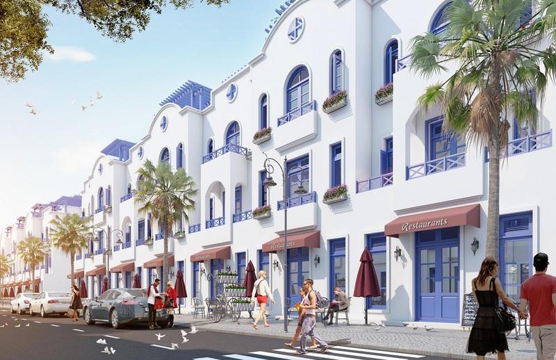 Shophouse FLC Quảng Bình phong cách Địa Trung Hải năng động