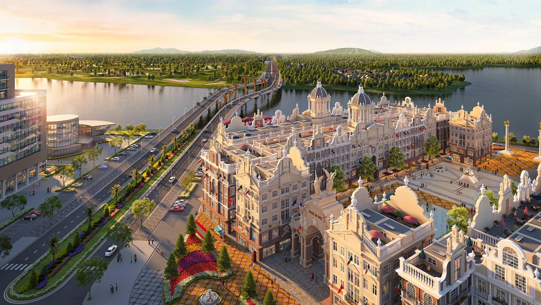 Dự án River Bay Bắc Đầm Vạc là tiêu điểm tài chính, nghỉ dưỡng, giáo dục, khoa học kỹ thuật Vĩnh Yên và Miền Bắc