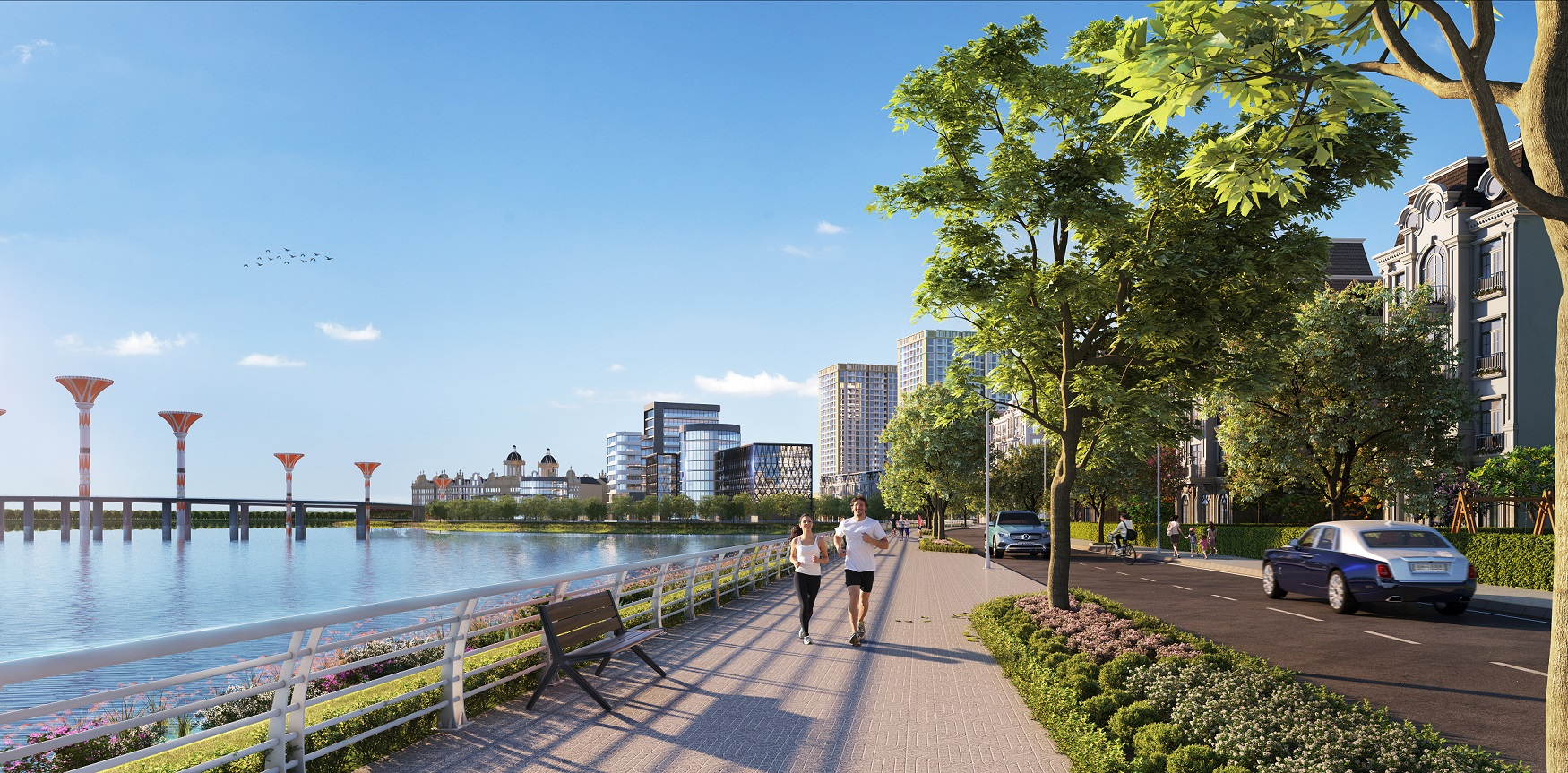Kinh doanh, đầu tư, nghỉ dưỡng...đa mục tiêu tại River Bay Bắc Đầm Vạc Vĩnh Yên