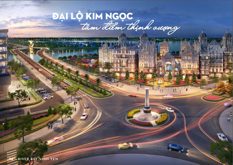 Đại lộ Kim Ngọc tri ân Nhà Cách Mạng mang tầm nhìn thế kỷ River Bay