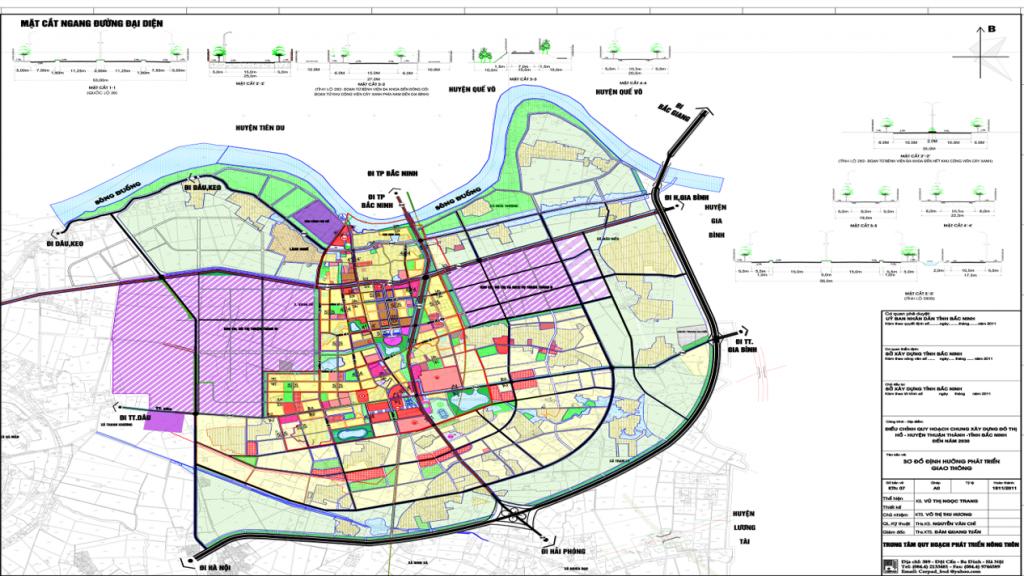 Vị trí Dự án Lan Hưng Thuận Thành Bắc Ninh hoàn hảo
